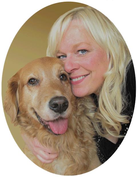 Ariane Lehmann mit Hund