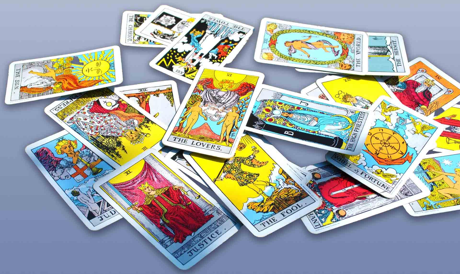 Tarotkarten Hintergrund