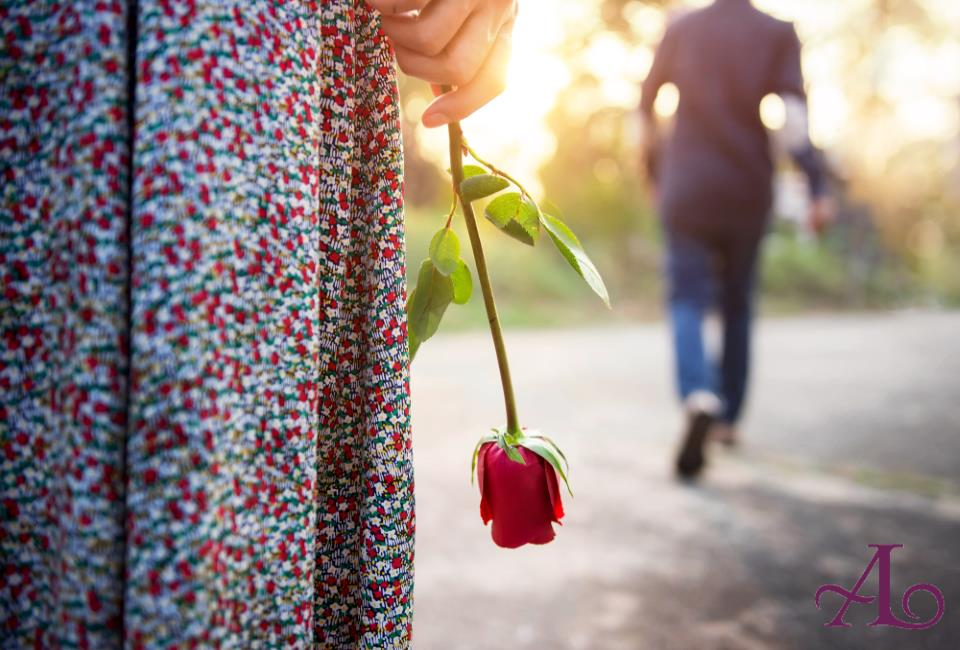 Beziehungsschluss führt zur Liebe des Lebens